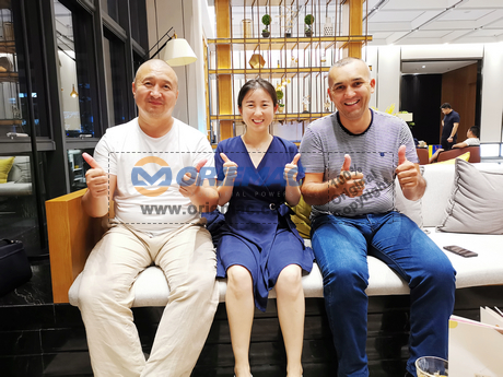 Meet Uzbekistan Customers in Qingdao
