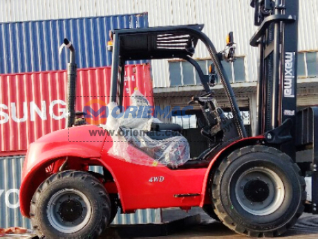 Algeria - 1 Unit Maximal Rough Terrain Forklift FD35T-C4WE3