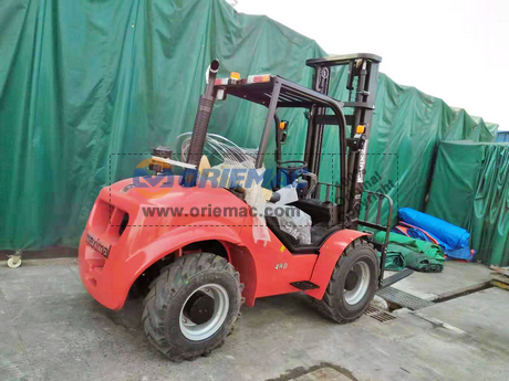 Maximal Rough Terrain Forklift FD35T-C4WE3